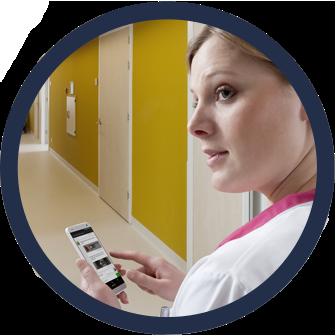 Multi-device communiceren in de zorg