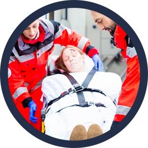 Ambulanceverpleging bij ongeval