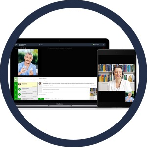 Videoconsult tussen huisarts en wijkverpleger